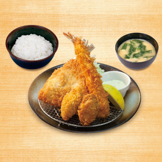 海鮮盛合せ定食