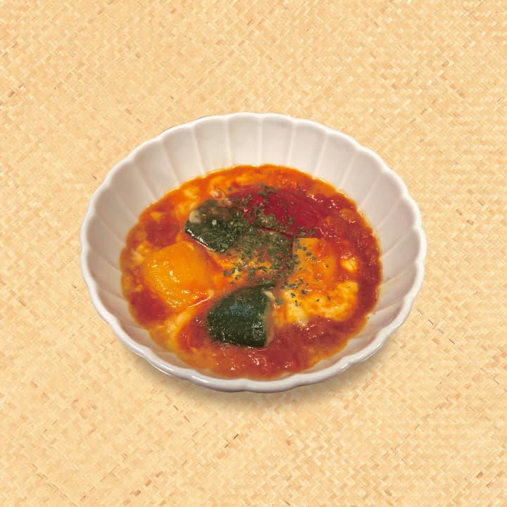 彩りチーズトマトソース