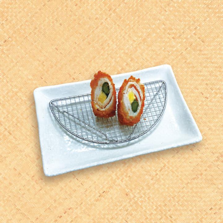 単品アスパラチーズ巻きかつ(1本)