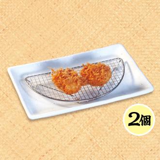 単品ホタテフライ(2個)