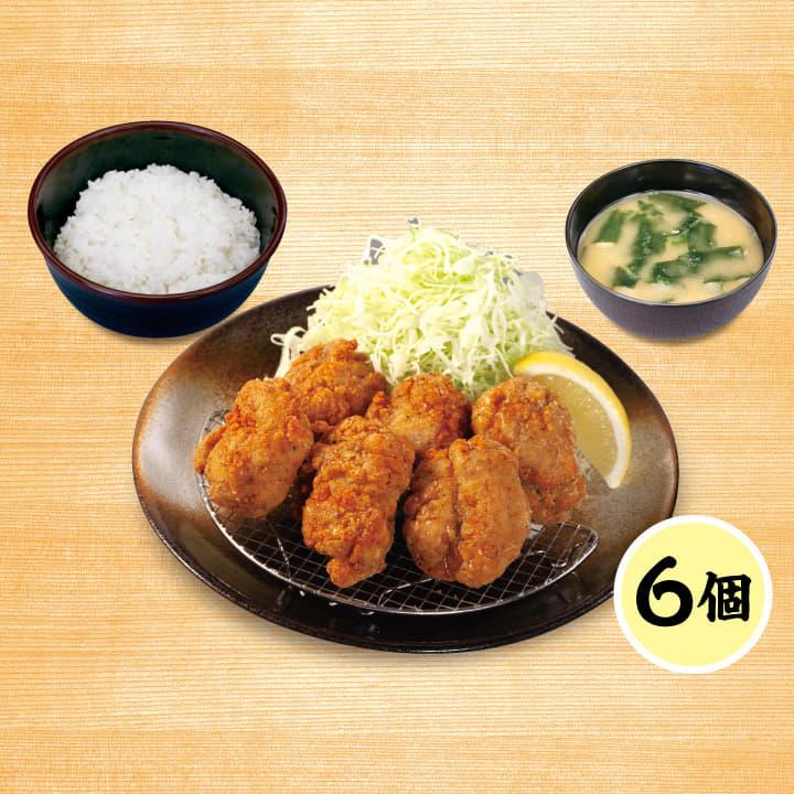 クリスピー唐揚げ定食