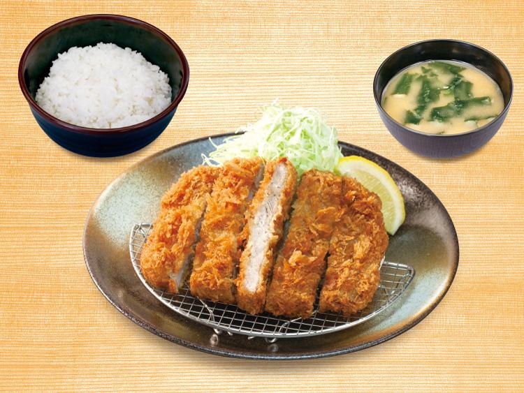 大判ヒレかつ定食