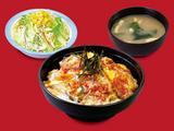 キムチ牛とじ丼生野菜セット