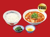 豆腐キムチチゲ膳(プレミアム牛肉使用)生玉子