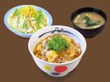 あんかけ肉たま丼生野菜セット