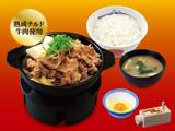 肉増し牛鍋膳(熟成チルド牛肉使用)生玉子