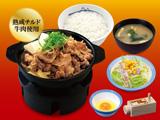肉増し牛鍋膳(熟成チルド牛肉使用)野菜セット 生玉子