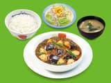 四川風麻婆豆腐定食