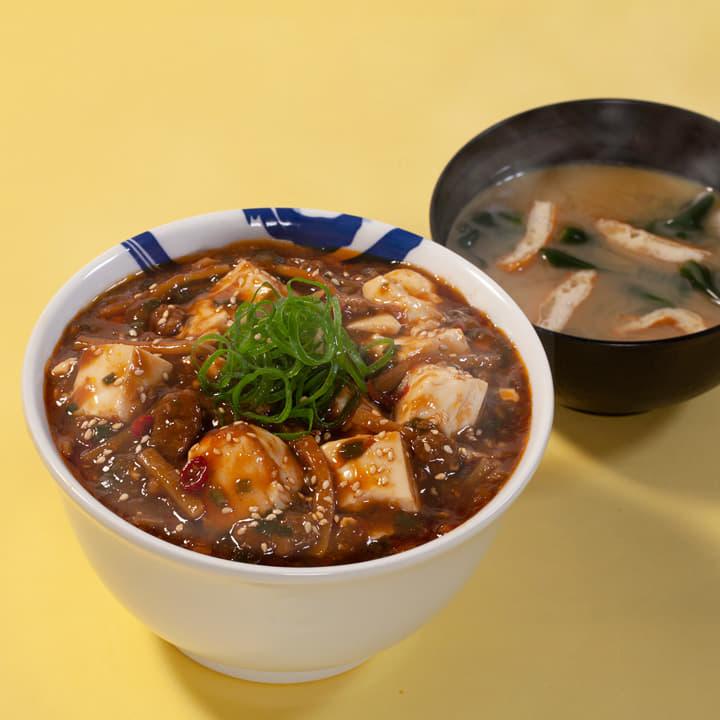 めちゃ大盛麻婆豆腐丼