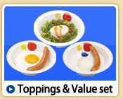 Toppings & Value set