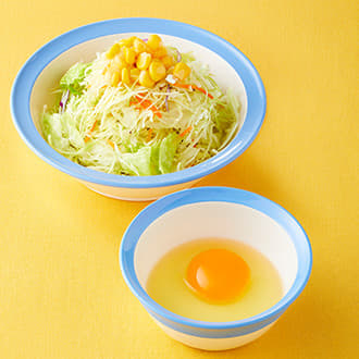 生野菜生玉子セット