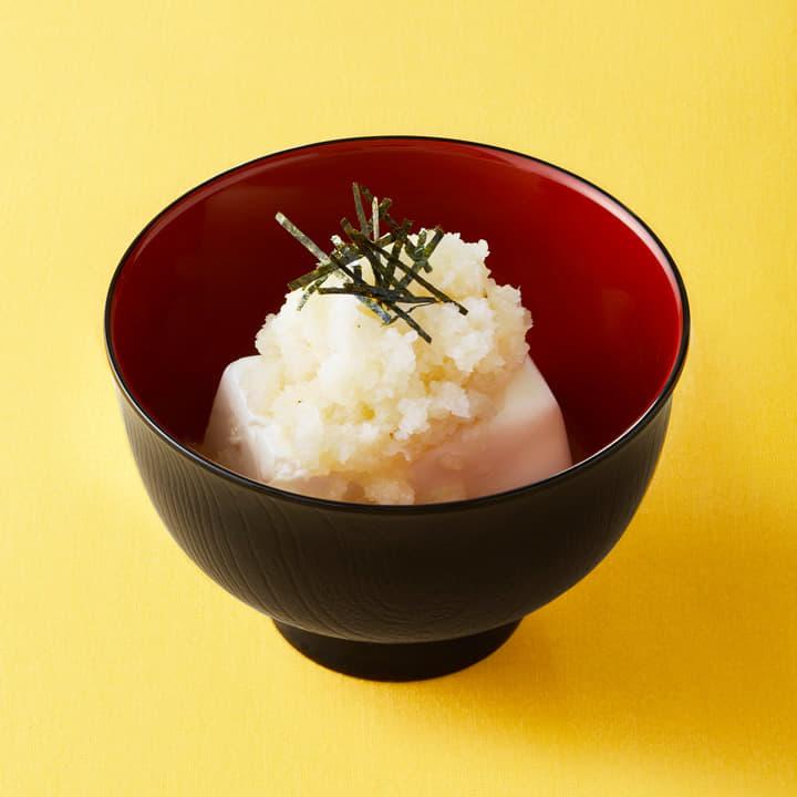 おろし豆腐