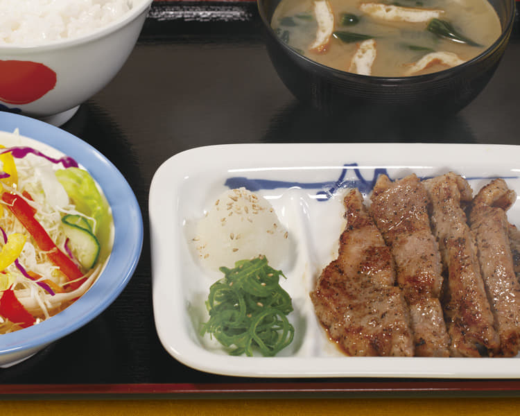 厚切り豚焼肉定食