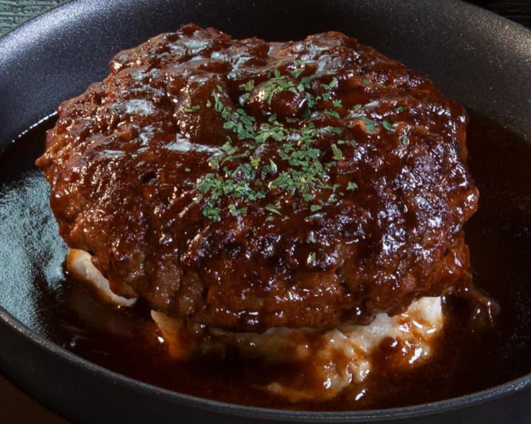 ビーフハンバーグステーキ定食