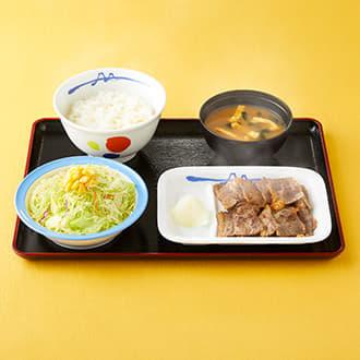 カルビ焼肉定食