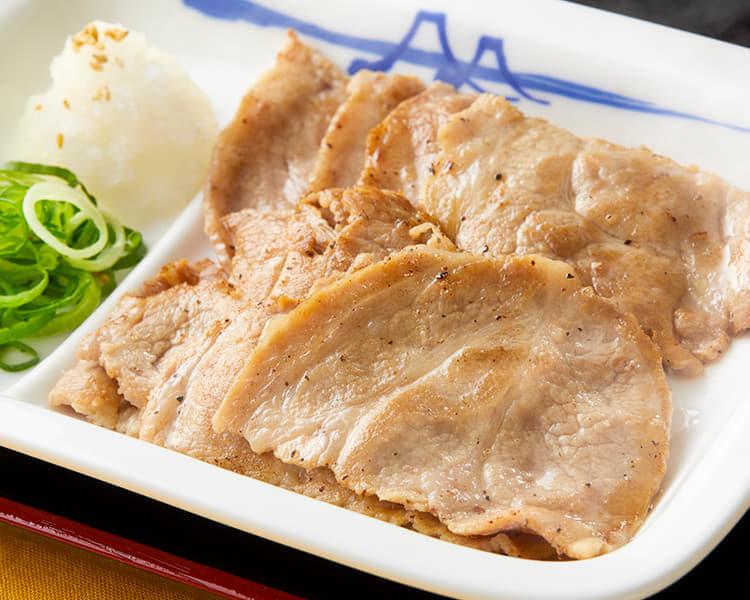 豚肩ロースの豚焼肉定食