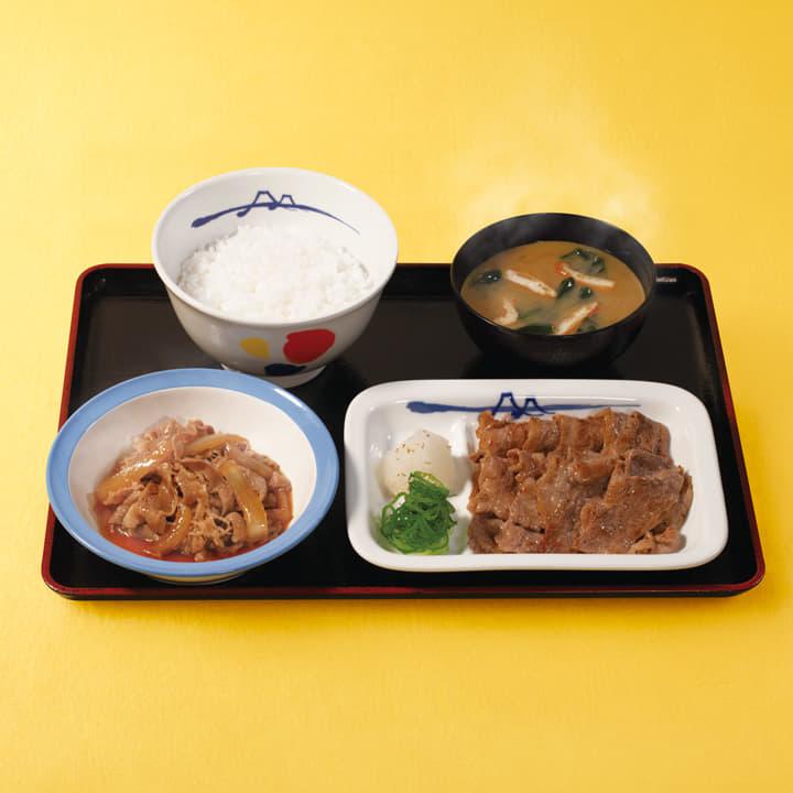 牛皿+牛焼肉セット