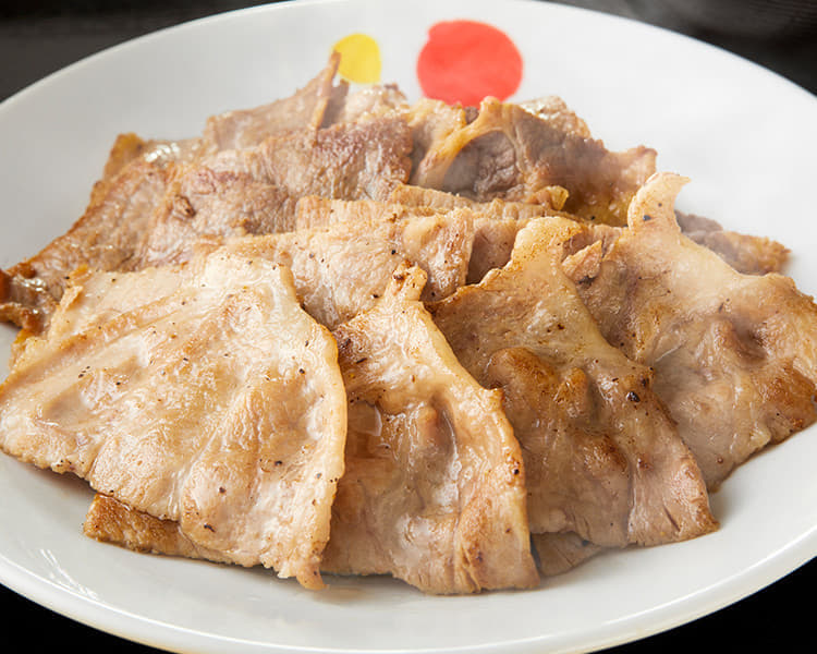 豚焼肉と牛カルビの鉄板コンビセット